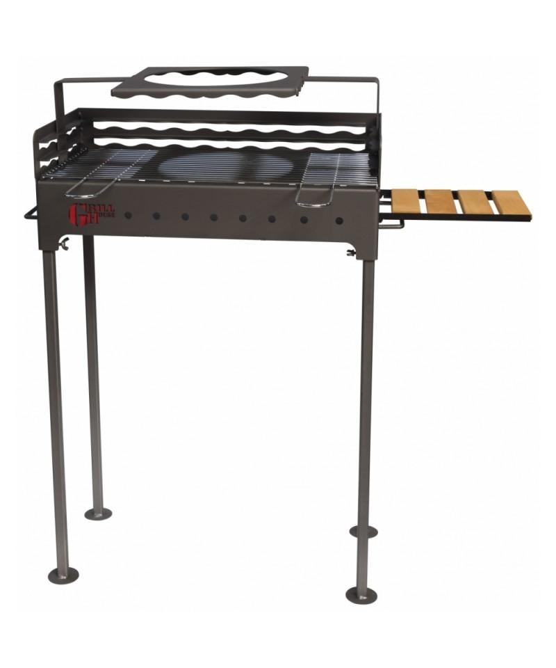 Gratar gradina din otel, FM Grill Premium, 67 x 40 cm -Premium 67 x 40 cm - -Acasa -599,99lei -