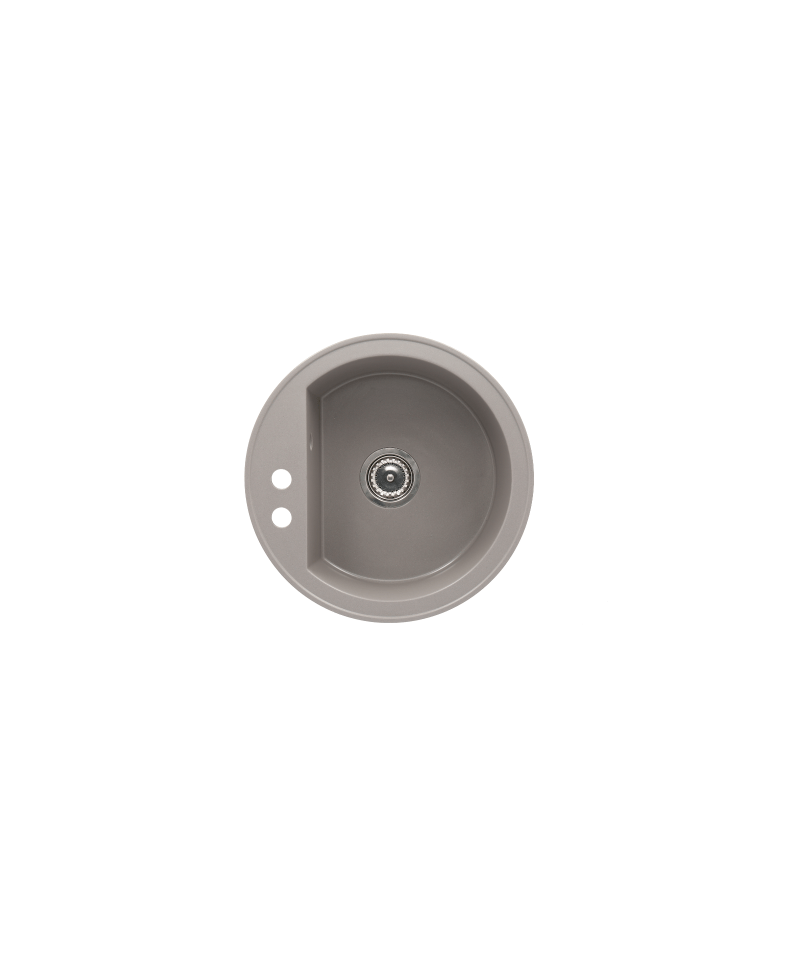 Chiuveta bucatarie granit rotunda RONDO GRI Ø 51 cm, gri -R1G RONDO -FERRO -Chiuvete granit -724,99lei -product_reduction_pe...