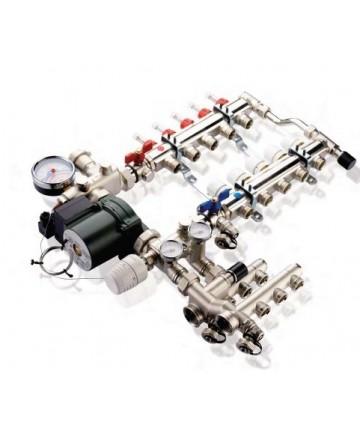 Kit de amestec UNIMIX cu pompa WILLO YONOS PARA 25/6 -500445E -IVAR -Seturi pentru incalzire in pardoseala -2,069.99 -