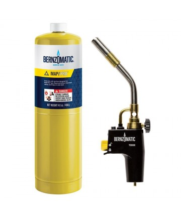 Set de lipire BERNZOMATIC, arzator TS8000 cu butelie Mapp/Pro 400gr -BER.378181 -Frankische -Consumabile si accesorii lipire/...