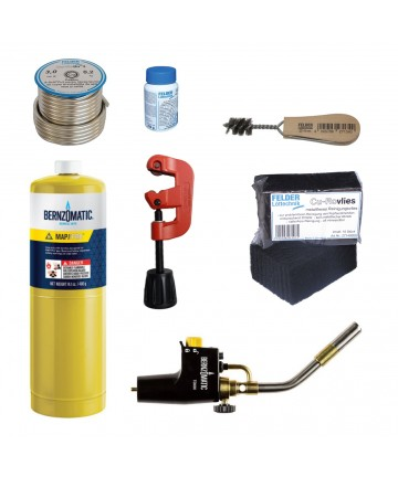 Pachet premium instalator pentru lipire moale -BER.378181 -Frankische -Consumabile si accesorii lipire/brazare -799,99lei -p...