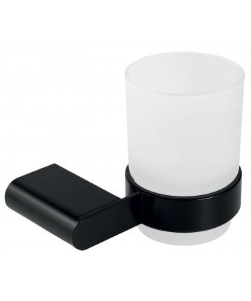 Portpahar negru cu sticla mata Ferro Naty Black -66606.5 -FERRO -Naty Black -112,49lei -product_reduction_percent