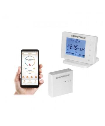 Termostat de ambient fara fir COMPUTHERM E400 RF, controlat prin Wi-Fi -E400RF -COMPUTHERM -Termostate electronice -429,99lei -