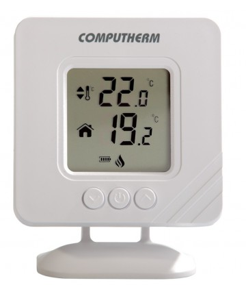 Temostat de ambient fara fir neprogrambail Computherm T32RF -T32RF -COMPUTHERM -Termostate electronice saptamanal -154,99lei -
