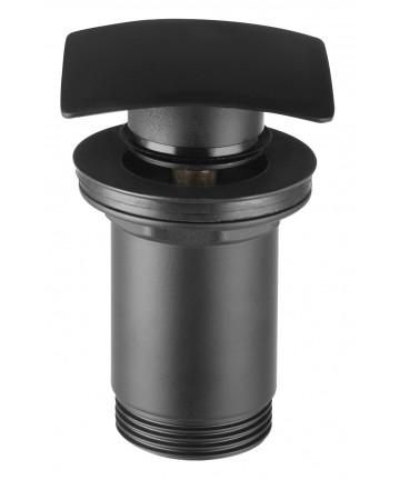 """Ventil de scurgere negru D.1 1/4"""" Quardo, pentru lavoare cu preaplin -S284-BL-B -FERRO -Ventile scurgere -124,99lei -product..."""