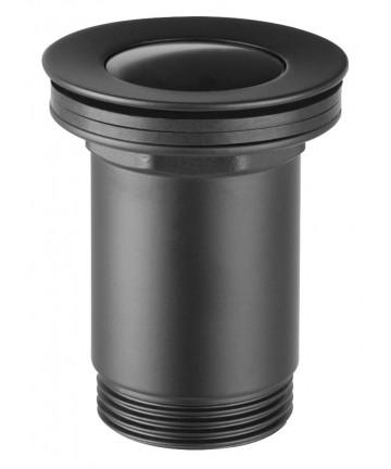 "Ventil de scurgere negru D.1 1/4"", pentru lavoare cu preaplin -S283-BL-B -FERRO -Ventile scurgere -89,99lei -product_reducti..."
