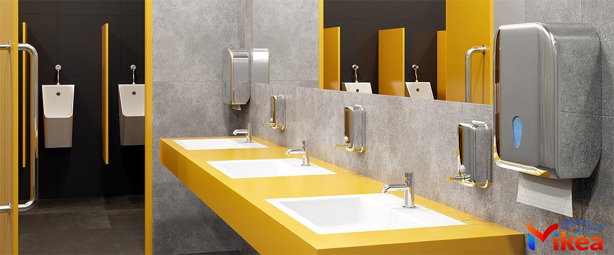 Accesorii baie pentru spatii publice